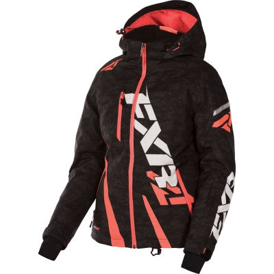FXR Boost Womens Jacket Black-Digi-ElecTang