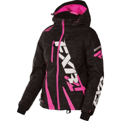 FXR Boost Womens Jacket Black/Digi/Fuch