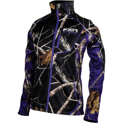 FXR Elevation Pile Zip Womens Fleece RT/Purple