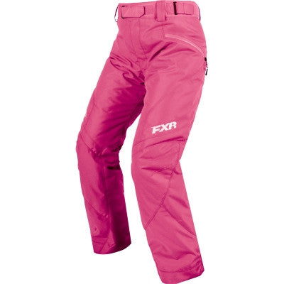 FXR Fresh Womens Pant 2017 Electric Pink