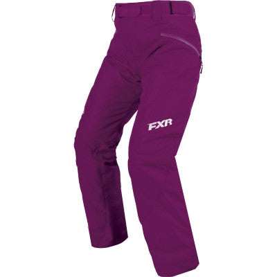 FXR Fresh Womens Pant 2017 Wineberry