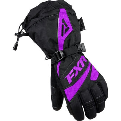 FXR Fusion Womens Glove Black/Purple