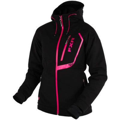 FXR Vertical Pro Insulated Womens Softshell Black