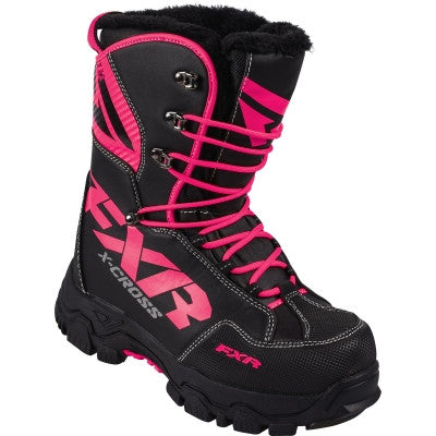 FXR X Cross Womens Boot Black/Fuchsia