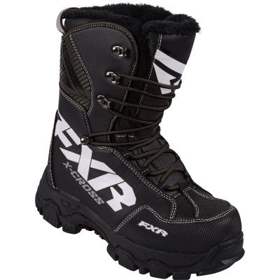 FXR X Cross Snowmobile Boot Black