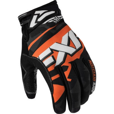 FXR X Cross Snowmobile Glove Black/Orange