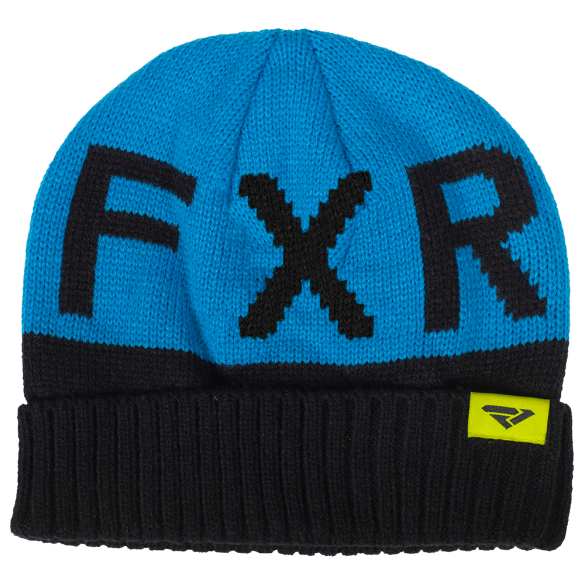 FXR Helium Youth Beanie Black Blue
