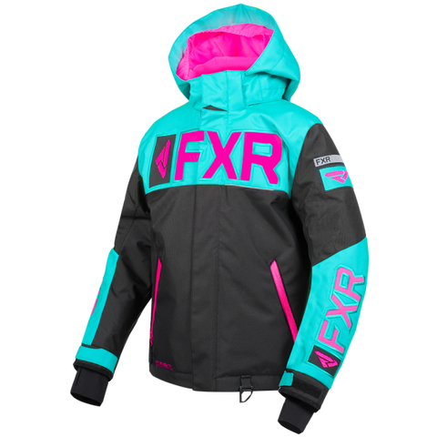 FXR Helium Youth Jacket 19 Mint Pink