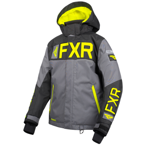 FXR Helium Youth Jacket 19 Char Hi Vis