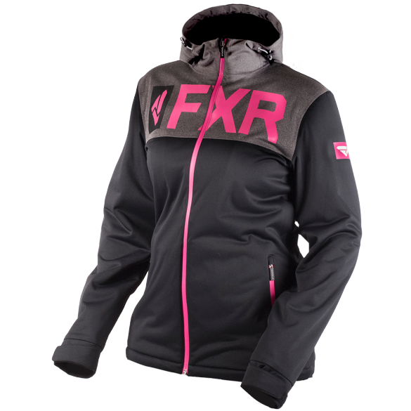 FXR Helium Womens Jacket Black Fuchsia