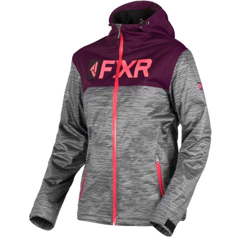 FXR Helium Womens Jacket Heather Plum