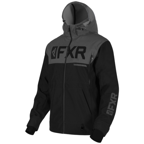FXR Helium Ride Softshell Jacket Black Ops