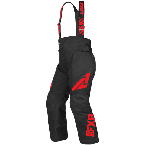 FXR Clutch Youth Pant 19 Black Red