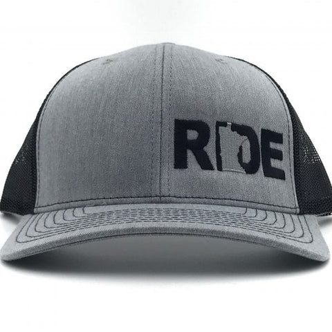 Ride MN Night Out Hat Trucker Snapback Grey