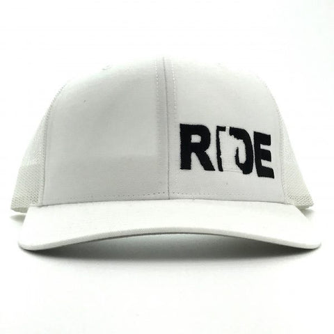 Ride MN Night Out Hat Trucker Snapback White