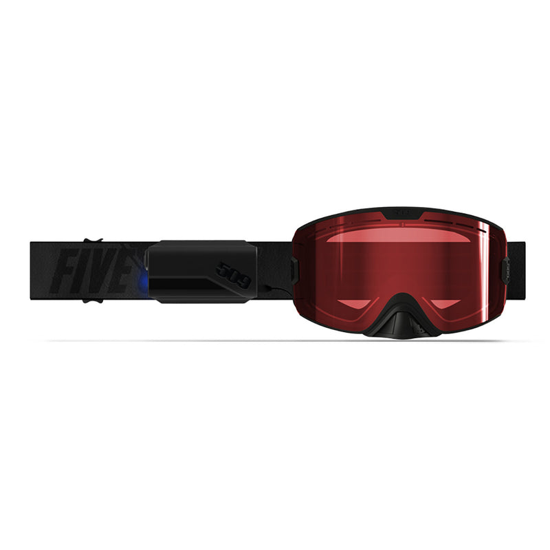509 Kingpin Ignite Heated Goggle Black with Rose