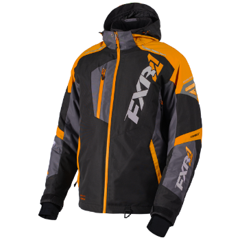 FXR Mission FX Jacket Black/Orange/Charcoal