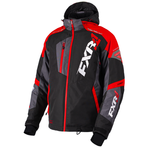 FXR Mission FX Jacket Black/Red/Charcoal