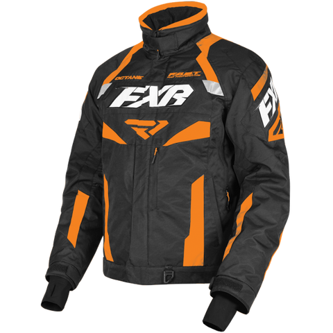 FXR Octane 19 Mens Jacket Black Orange