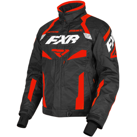 FXR Octane 19 Mens Jacket Black Red