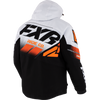 FXR Boost FX Jacket White/Black/Orange
