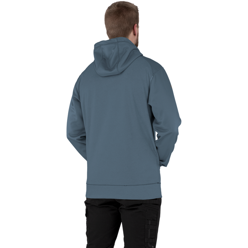 FXR Helium Tech Pullover Fleece Steel/Black