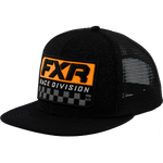 FXR Race Division Hat Black/Orange