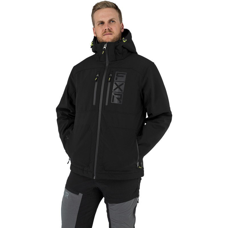 FXR Vertical Pro Insulated Softshell Black/Hi-Vis