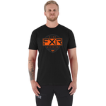 FXR Ride Tee Black/Orange