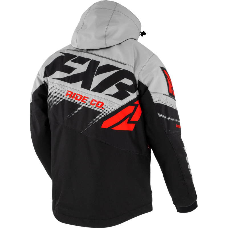 FXR Boost FX Jacket Black/Lt Grey/Lava
