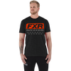 FXR Race Division Tee Char Heather/Lava