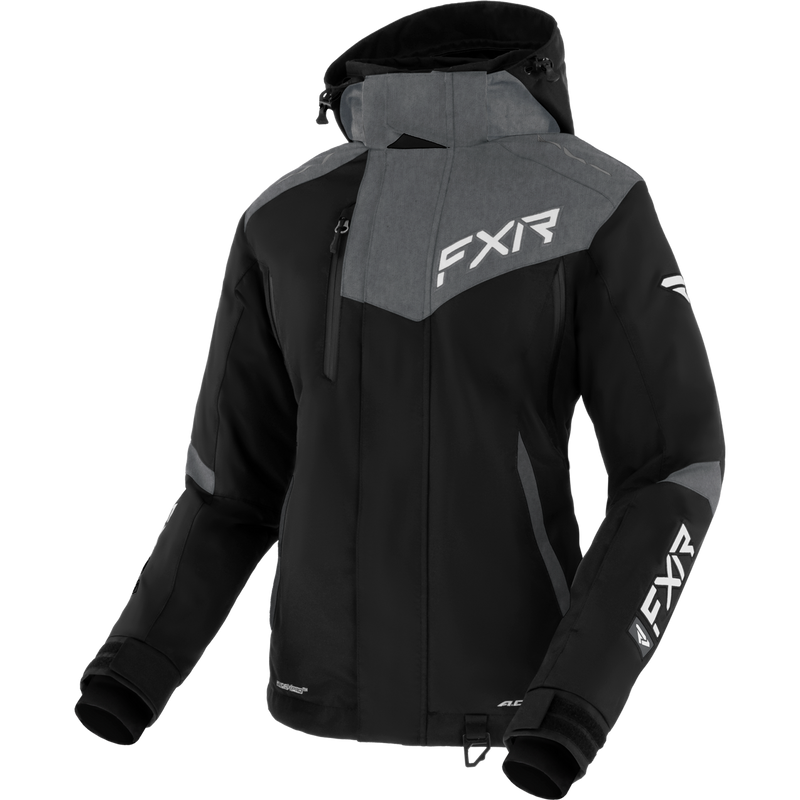FXR Edge Womens Jacket Black/Grey Heather