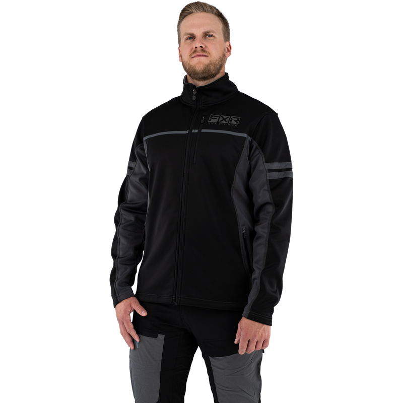 FXR Elevation Tech Zip-Up Black Ops