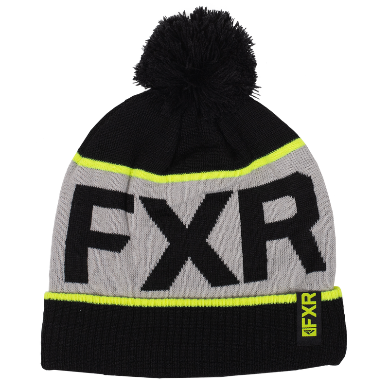 FXR Wool Excursion Beanie Black/Hi-Vis