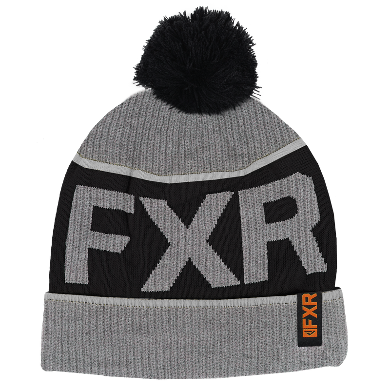 FXR Wool Excursion Beanie Grey Heather/Orange