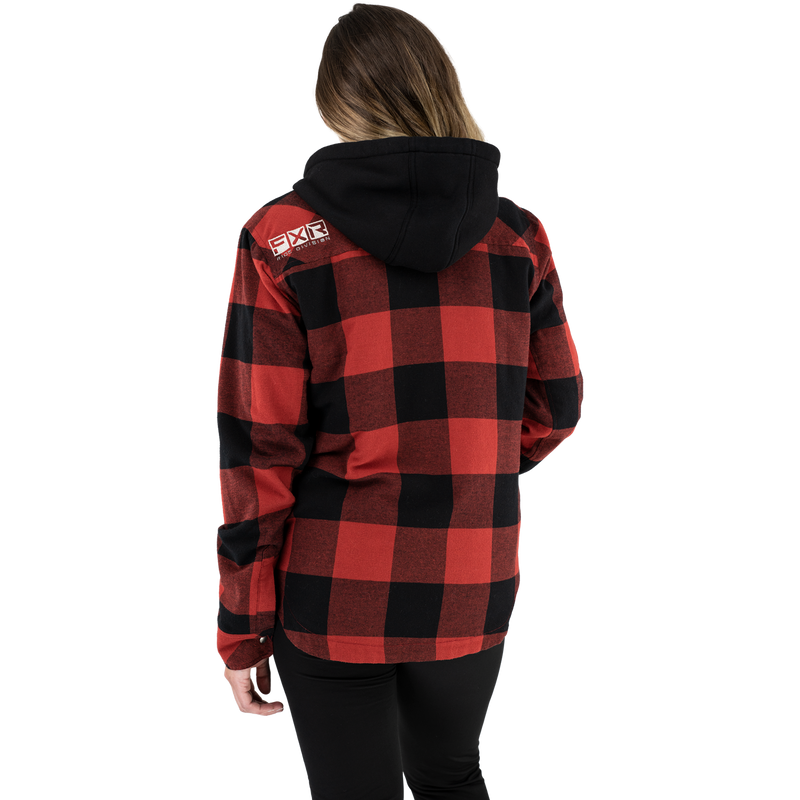 Women's Timber Insulated Flannel Jacket Rust/Black