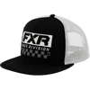 FXR Race Division Hat Black/White