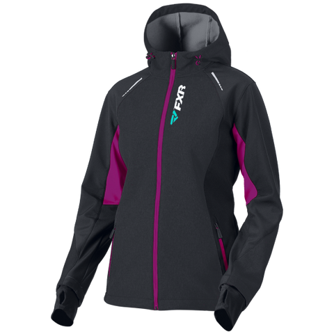 FXR Pulse 2019 Softshell Jacket Black Berry
