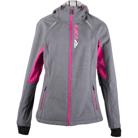 FXR Pulse 2019 Softshell Jacket Heather Fuchsia