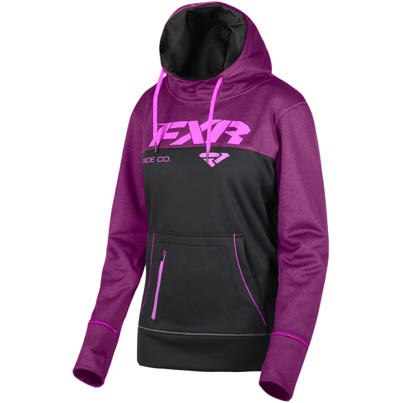 FXR Pursuit Tech Womens Pullover Berry