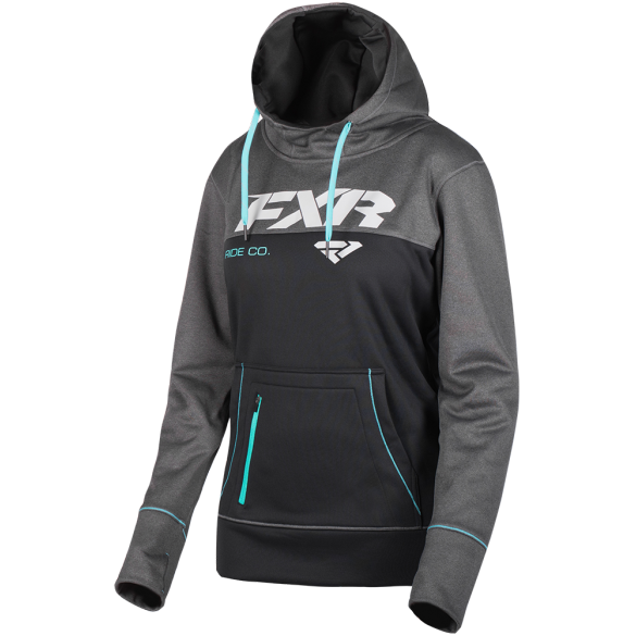 FXR Pursuit Tech Womens Pullover Black Mint