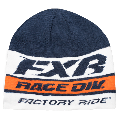 FXR Race Division Beanie Navy Orange