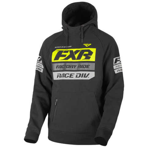 FXR Race Division Pullover Hoody Black