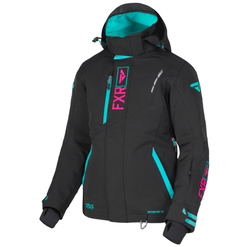 FXR Renegade Womens 2019 Jacket Black Mint