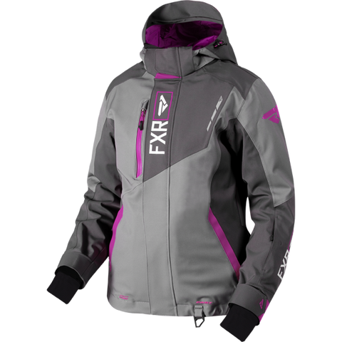 FXR Renegade Womens 2019 Jacket Char Berry