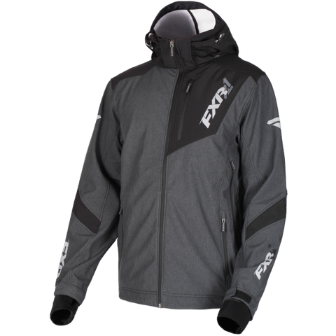 FXR Renegade 2019 Softshell Jacket Heather Black