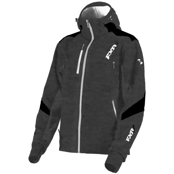 FXR Renegade Softshell Charcoal Heather