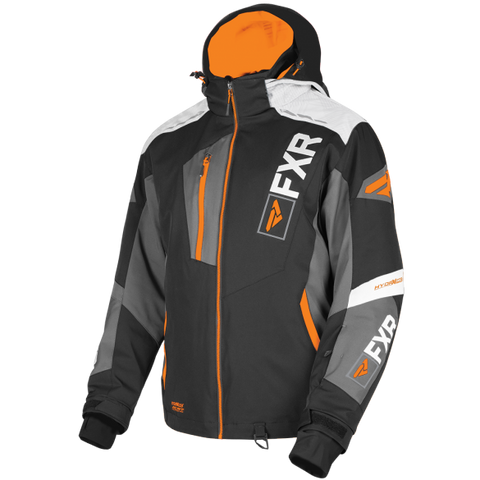 FXR Renegade 2019 X4 Jacket Black Orange