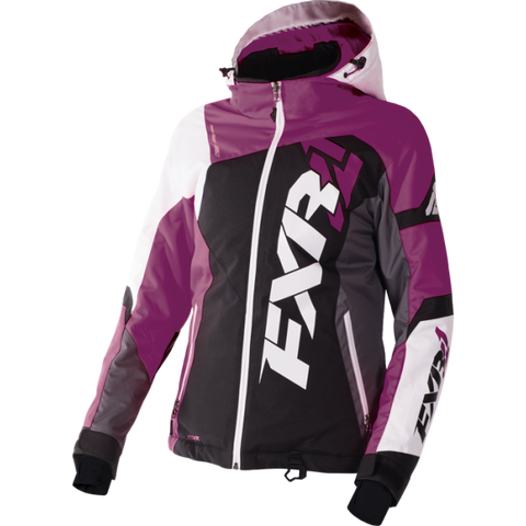 FXR Revo X Womens Jacket Black/Berry/White