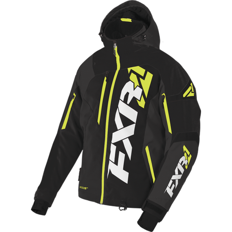 FXR Revo X Mens Jacket Black Hi Vis